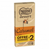 Nestlé dessert chocolat caramel 170g