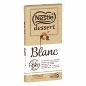 Nestlé Dessert tablette de chocolat blan 180g