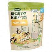 Bledina les récoltes bio muesli vanille 200g dès 6 mois
