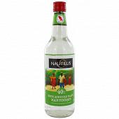 Nautilus rhum blanc agricole Martinique AOC 70cl 40%vol