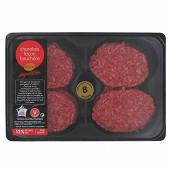 Steak haché 12% façon bouchère Charolais, 8x100g