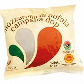 Mozzarella di bufala aop au lait de bufflone 125g