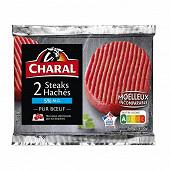 Steak haché pur boeuf 5% mg 2x130g Charal
