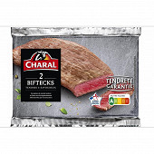 Bifteck de boeuf extra tendre x2 Charal