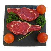 Viande bovine : côte ***  à l'os à griller