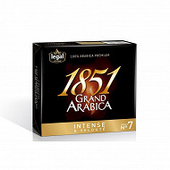 Legal 1851 grand arabica intense pack fidélité 2x250g