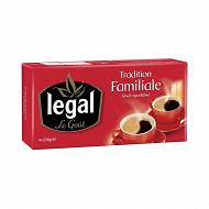 Legal tradition familiale moulu 4X250G
