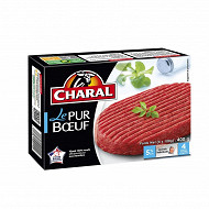 Charal le pur boeuf 5% mg x4 400g