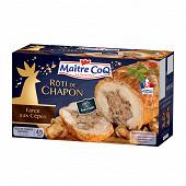 Maître Coq rôti de chapon aux cèpes 700g