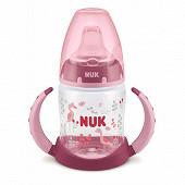 Tasse d'apprentissge avec poignées 150 ml bec silicone oiseau Nuk