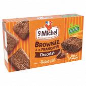 St michel mini brownie chocolat x8  240g