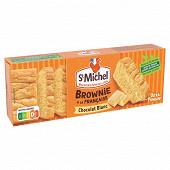 St michel brownie chocolat blanc 240g