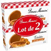 Bonne Maman tartelette chocolat caramel lot 2X270g
