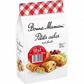 Bonne Maman petits cakes aux fruits 10+2 offerts 360g