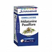 Juvamine mélatonine passiflore 30 comprimés 17g