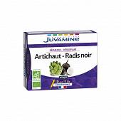 Juvamine radis noir artichaut 10 ampoules 100g