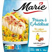 Marie Poisson à l'Andalouse riz safrané aux petits légumes 300g
