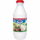 Lactel lait pasteurisé entier bio 1l