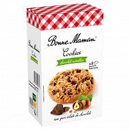 Bonne Maman cookies chocolat / noisettes 225g