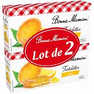 Bonne Maman tartelette citron lot 2x125g