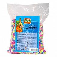Riga - Gravier multicolore sachet 2kg