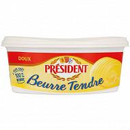 Président beurre tendre doux beurrier 500g