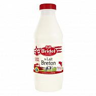 Bridel lait pasteurisé entier 1l