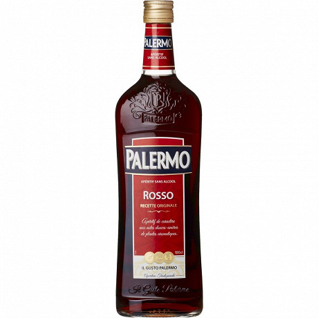Palermo Rosso sans alcool 1L