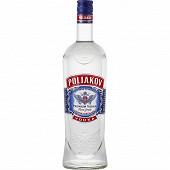 Poliakov vodka pure grain triple distilled 1L 37.5%vol