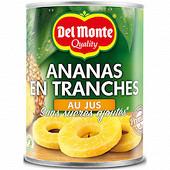 Del monte ananas jus 10 tranches 350g net égoutté