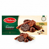 Delacre tentation chocolat assortiment de biscuits 150g