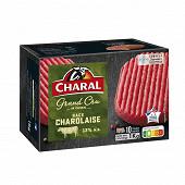 Charal steak haché charolais 12% mg 10x100g