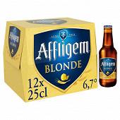 Affligem bière blonde Belge d'Abbaye depuis 1074 12 x 25 cl 6,7% Vol.