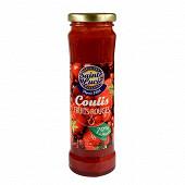 Sainte lucie coulis de Fruits rouges 215g