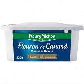 Fleury Michon terrine de fleuron de canard touche de crème Joël Robuchon 220g
