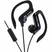 Jvc Ecouteurs clip sport ajustable noir avec micro HA-EBR25-B-E