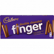 Cadbury finger double chocolat 114g