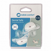 2 sucettes dental safe silicone 18/36 mois Bébé Confort