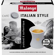 Malongo Italian style 16 doses 104g