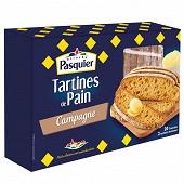Pasquier tartines de pain campagne 180g