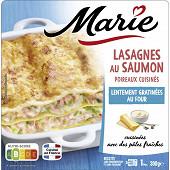 Marie lasagnes saumon poireaux 300G