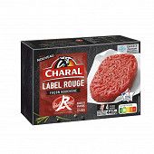 Charal steak haché label rouge vbf 12% mg 4x110g