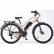 Vélo électrique mixte alu