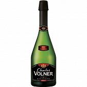 Vin mousseux de qualité charles volner blanc brut 12%vol 75cl