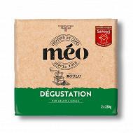 Méo café dégustation moulu 2x250g