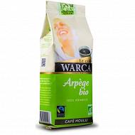 Warca café moulu 100% arabica Arpège bio max havellar 250g