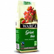 Warca cafe moulu 100% arabica griot bio max havellar 250g