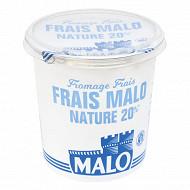 Malo fromage frais 20% nature 1kg