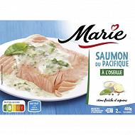 Marie saumon de Norvège à l'oseille 400g