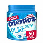 Mentos gum pure fresh mint ss 50 dragées 100g